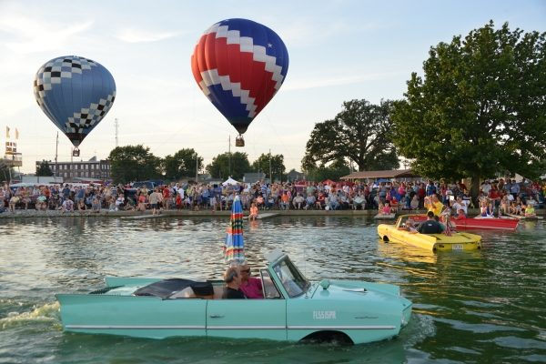 Amphicar on Grand Lake St Marys