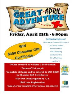 The Great Adventure flyer