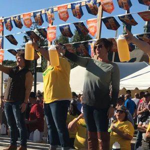 Jug challenge at Minster Oktoberfest