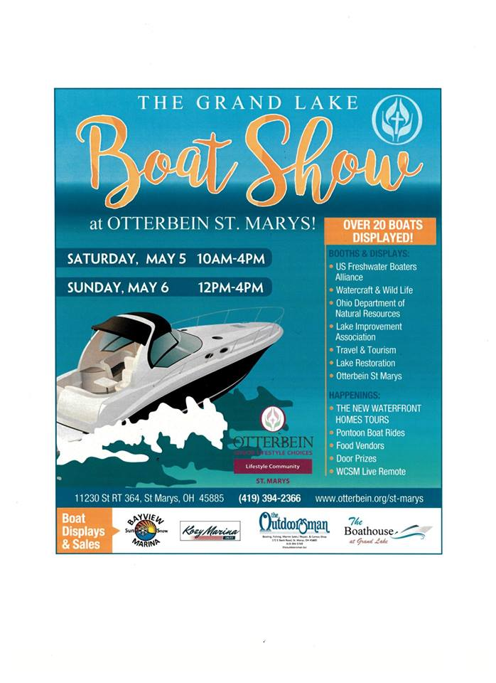 Grand Lake Boat Show flyer