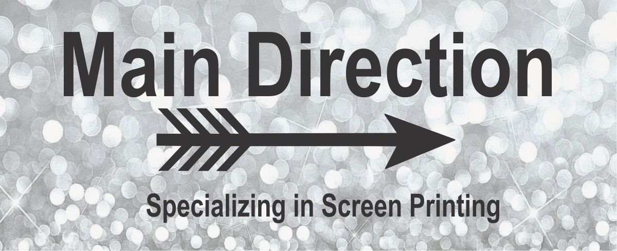 Main Direction screenprinting