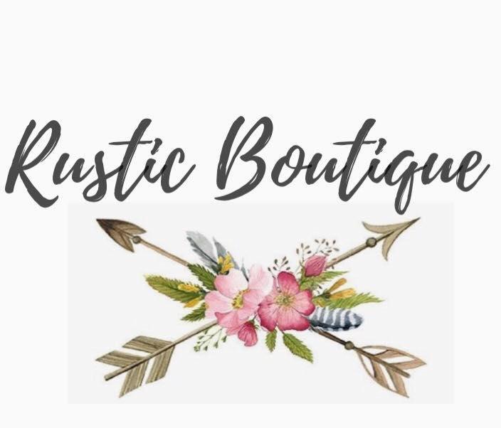 Rustic boutique logo
