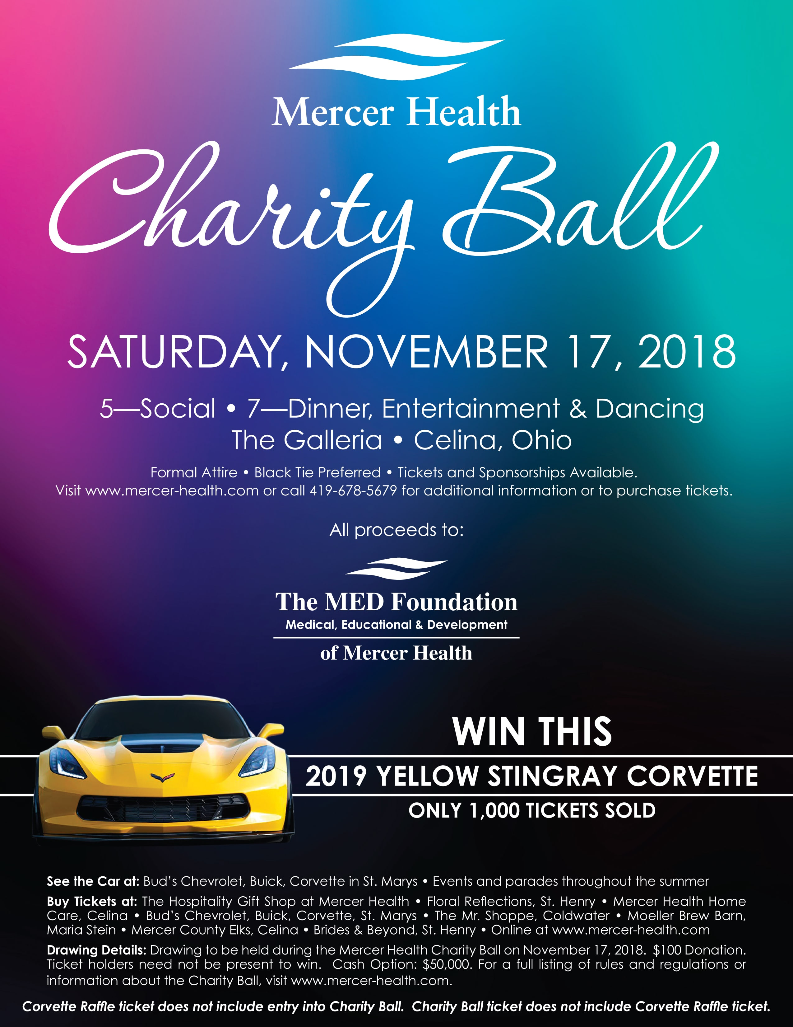 Mercer County Charity Ball - Greater Grand Lake Visitors Region