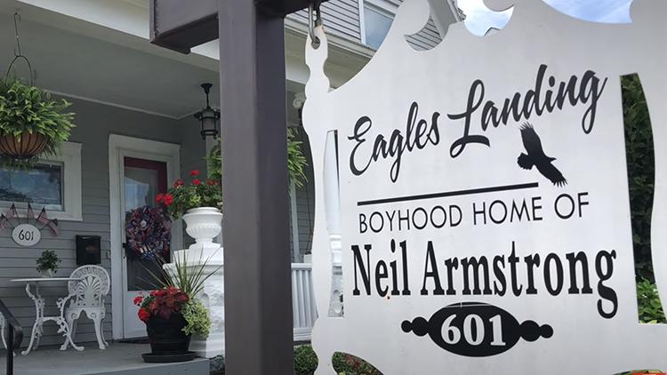 Eagles Landing - Boyhood home of Neil Armstrong